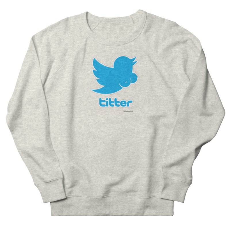 Titter Women's French Terry Sweatshirt by Zachary Knight | Artist Shop