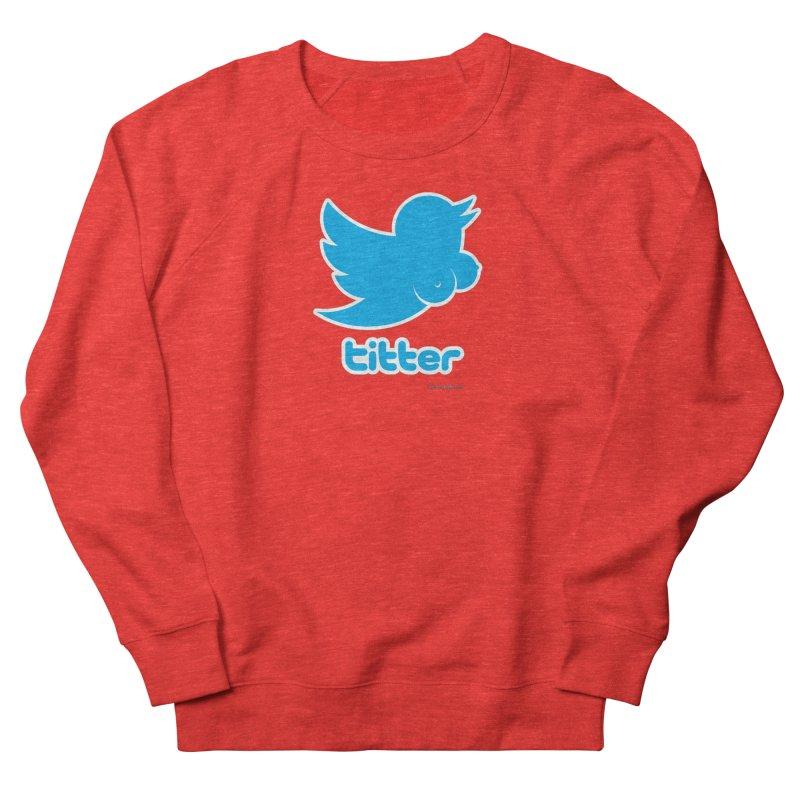 Titter Men's Sweatshirt by Zachary Knight | Artist Shop