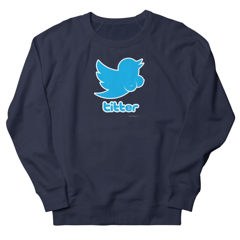 Titter Men's Sweatshirt by Zachary Knight | Artist Shop
