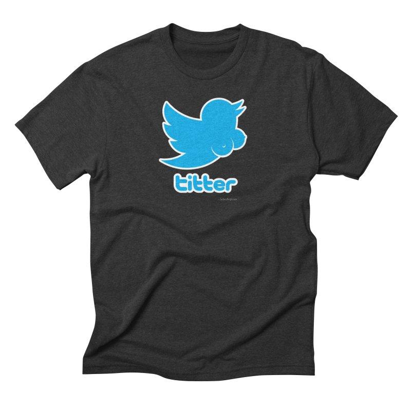 Titter Men's Triblend T-Shirt by Zachary Knight | Artist Shop
