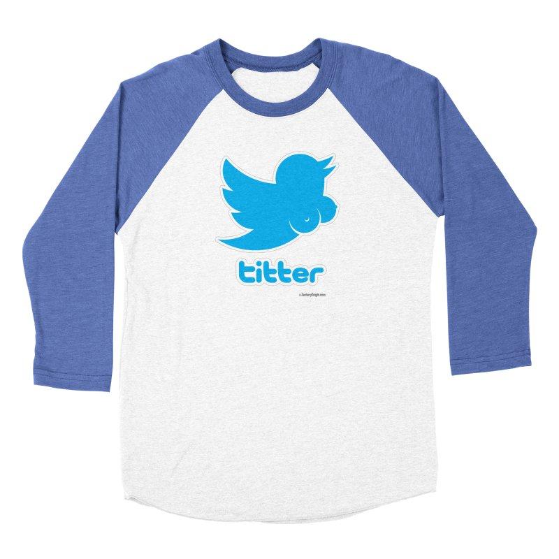 Titter Women's Baseball Triblend T-Shirt by Zachary Knight   Artist Shop