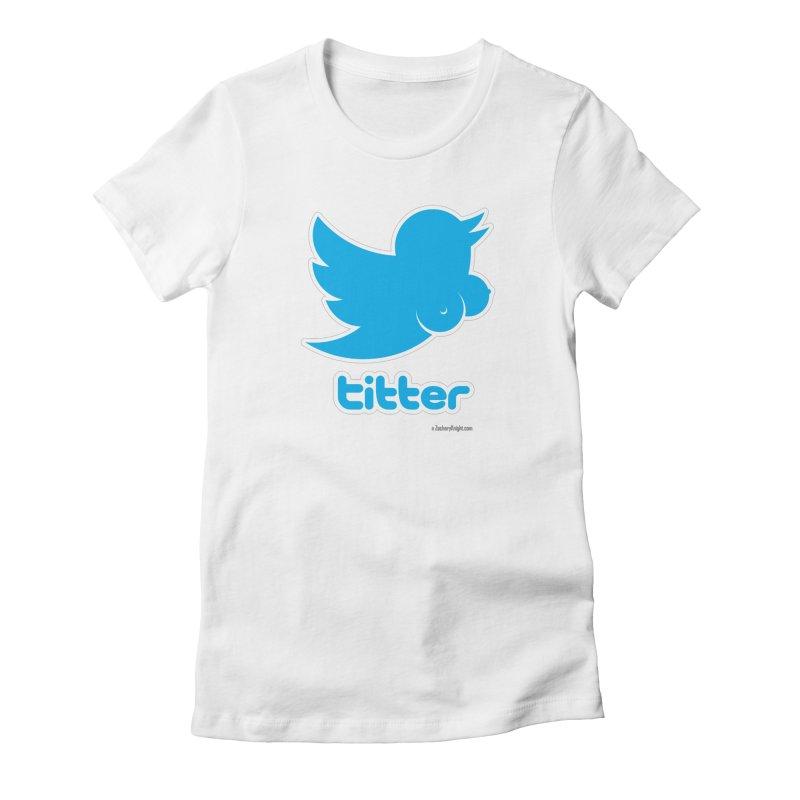 Titter Women's T-Shirt by Zachary Knight | Artist Shop