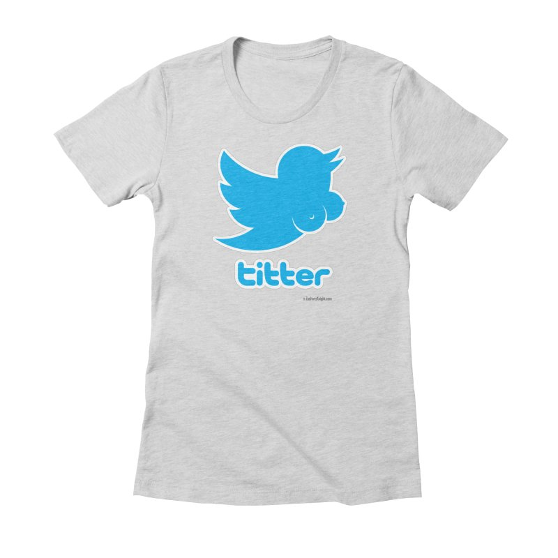 Titter Women's T-Shirt by Zachary Knight | Artist Shop