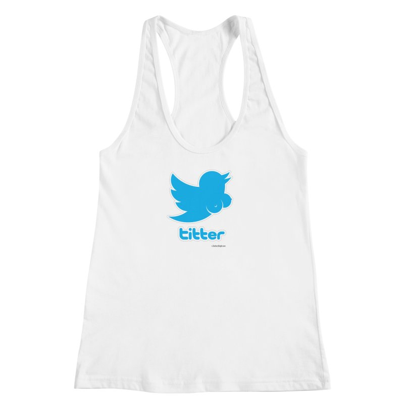 Titter Women's Racerback Tank by Zachary Knight | Artist Shop