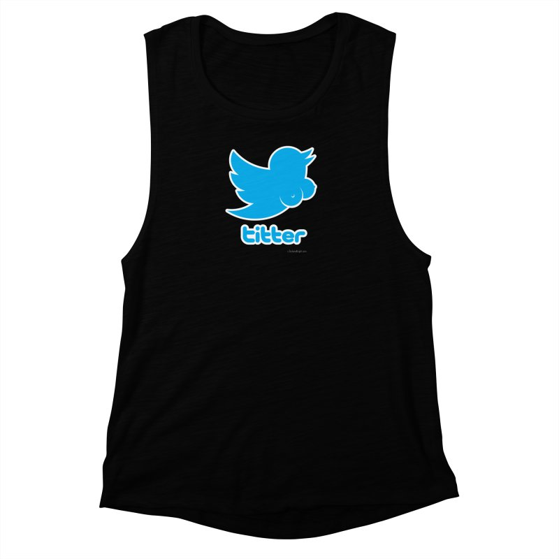 Titter Women's Muscle Tank by Zachary Knight | Artist Shop