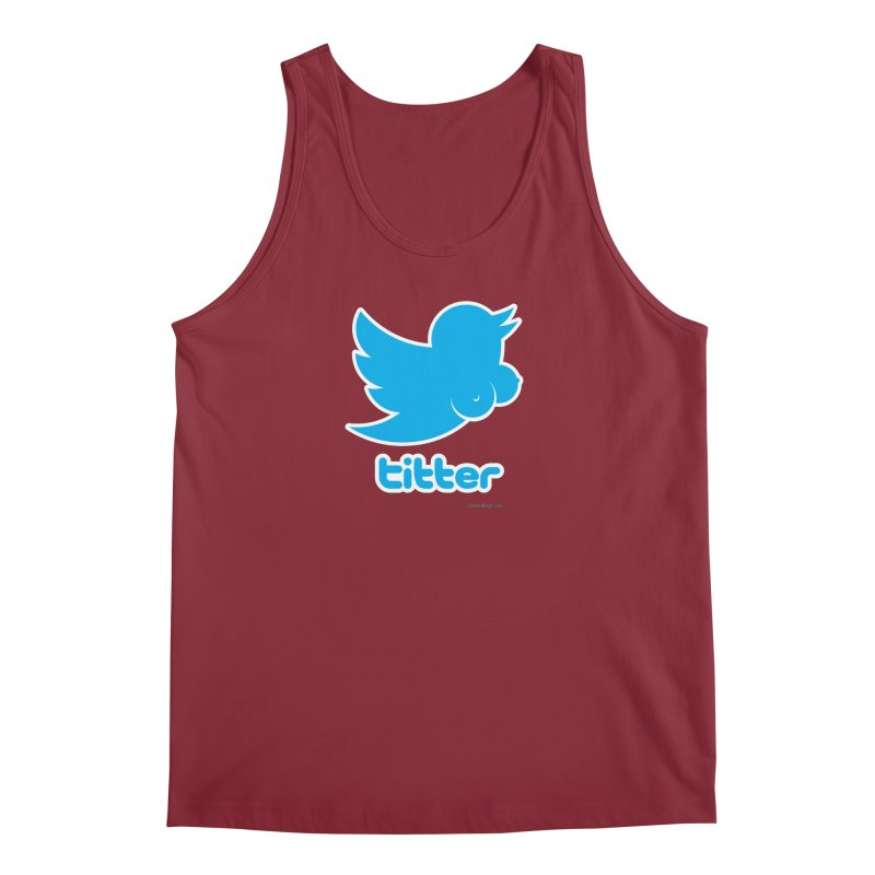 Titter Men's Tank by Zachary Knight | Artist Shop