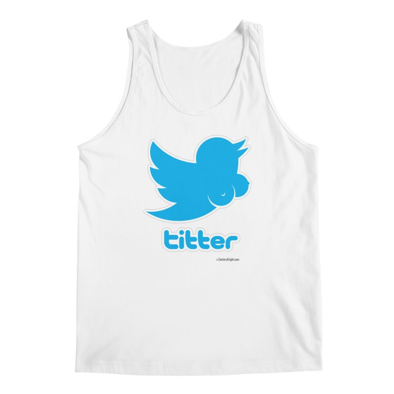 Titter Men's Regular Tank by Zachary Knight | Artist Shop