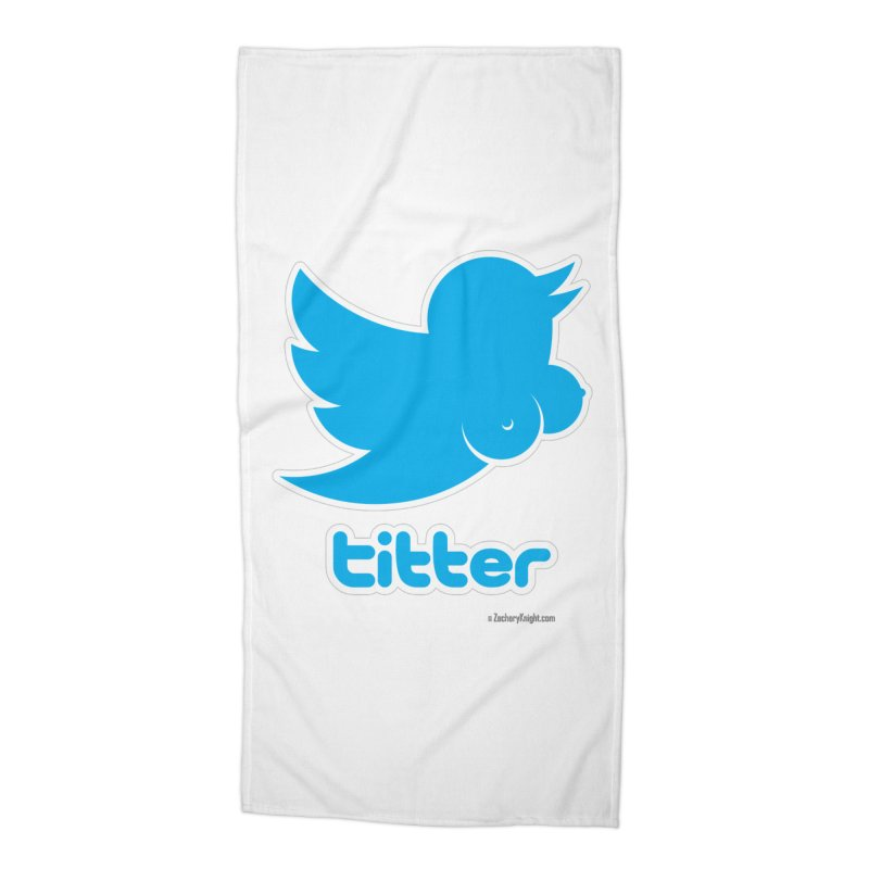 Titter Accessories Beach Towel by Zachary Knight | Artist Shop