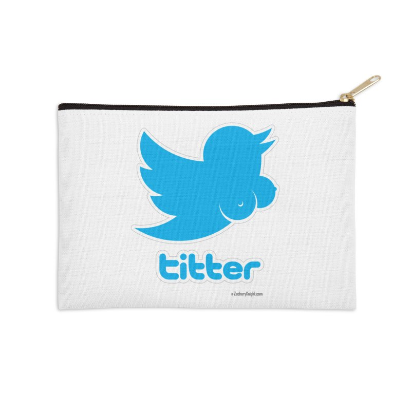 Titter Accessories Zip Pouch by Zachary Knight | Artist Shop