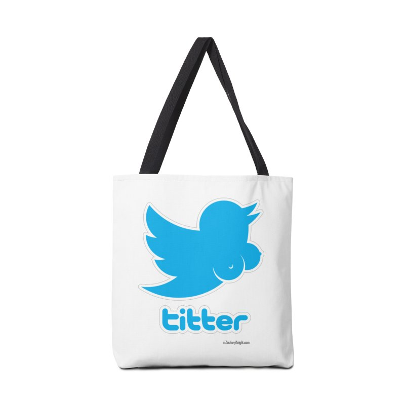 Titter Accessories Tote Bag Bag by Zachary Knight | Artist Shop