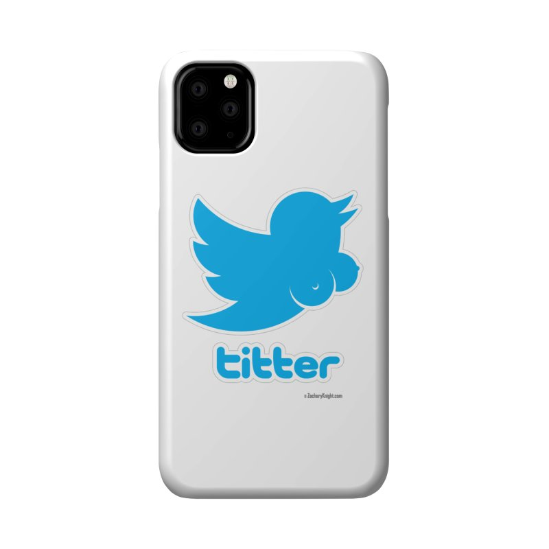 Titter Accessories Phone Case by Zachary Knight | Artist Shop