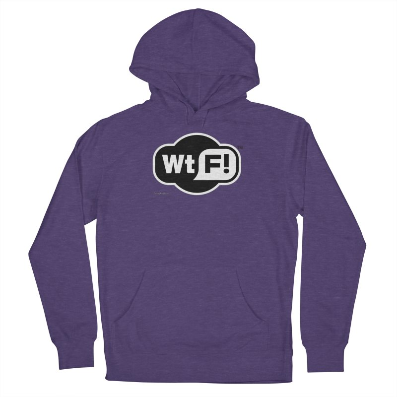 WTF! Men's French Terry Pullover Hoody by Zachary Knight | Artist Shop