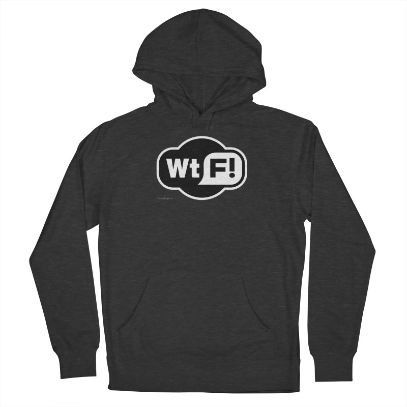 WTF! Men's French Terry Pullover Hoody by Zachary Knight   Artist Shop