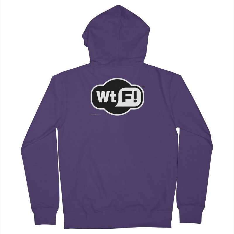 WTF! Women's French Terry Zip-Up Hoody by Zachary Knight | Artist Shop