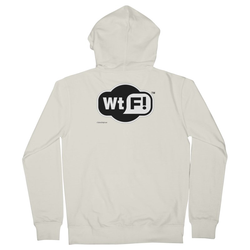 WTF! Women's Zip-Up Hoody by Zachary Knight | Artist Shop
