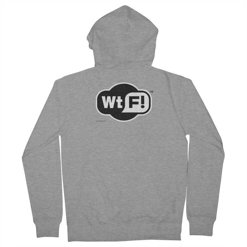 WTF! Men's French Terry Zip-Up Hoody by Zachary Knight | Artist Shop