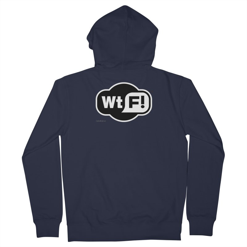 WTF! Men's Zip-Up Hoody by Zachary Knight | Artist Shop