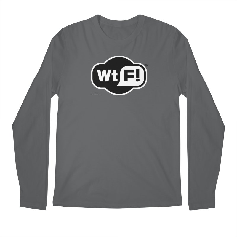 WTF! Men's Longsleeve T-Shirt by Zachary Knight | Artist Shop