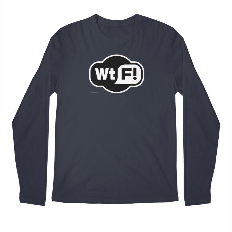 WTF! Men's Regular Longsleeve T-Shirt by Zachary Knight   Artist Shop