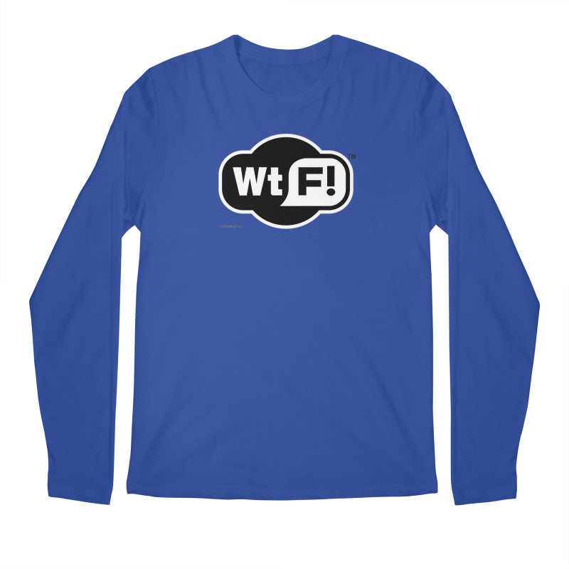 WTF! Men's Regular Longsleeve T-Shirt by Zachary Knight | Artist Shop