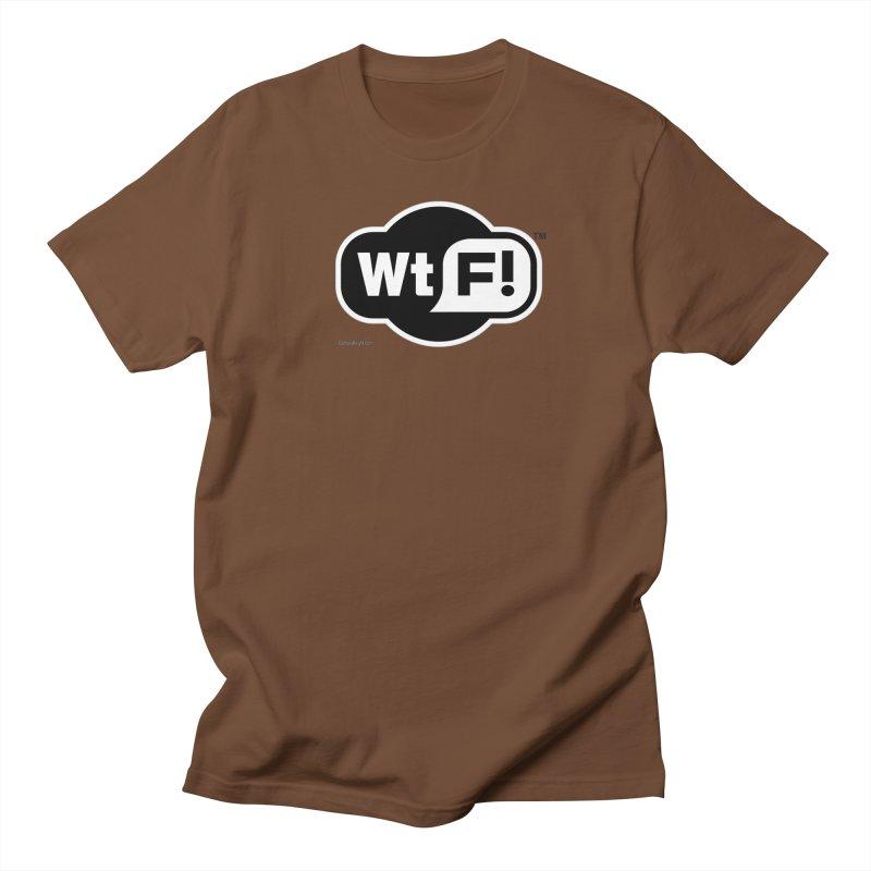 WTF! Women's Regular Unisex T-Shirt by Zachary Knight | Artist Shop