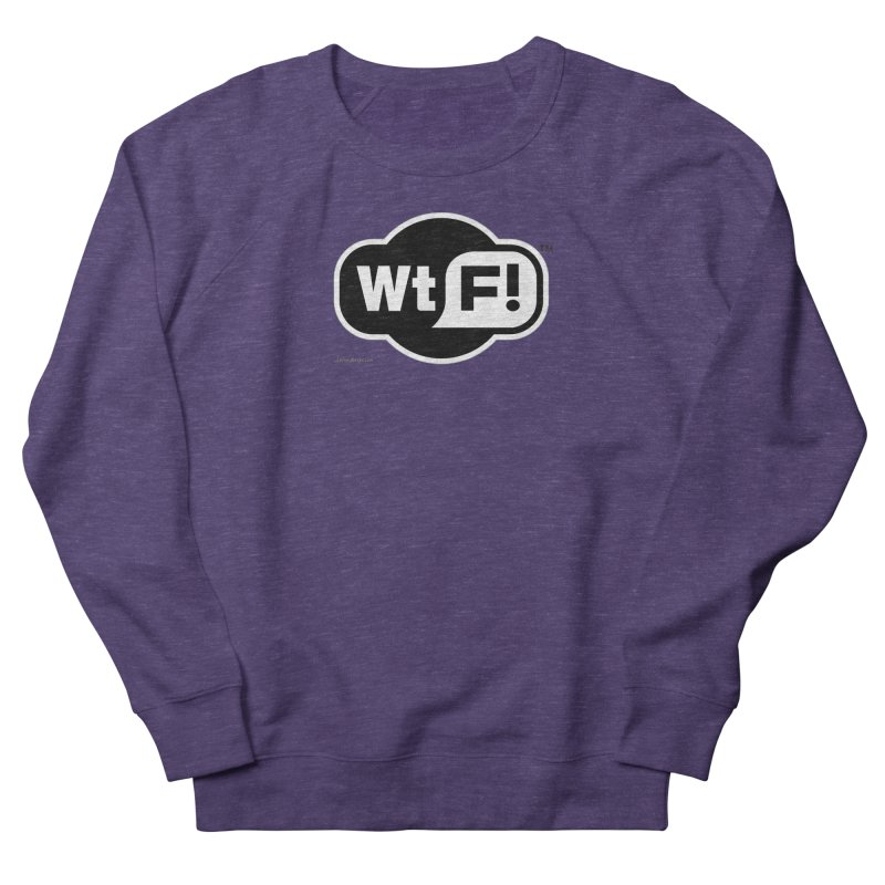 WTF! Men's Sweatshirt by Zachary Knight | Artist Shop