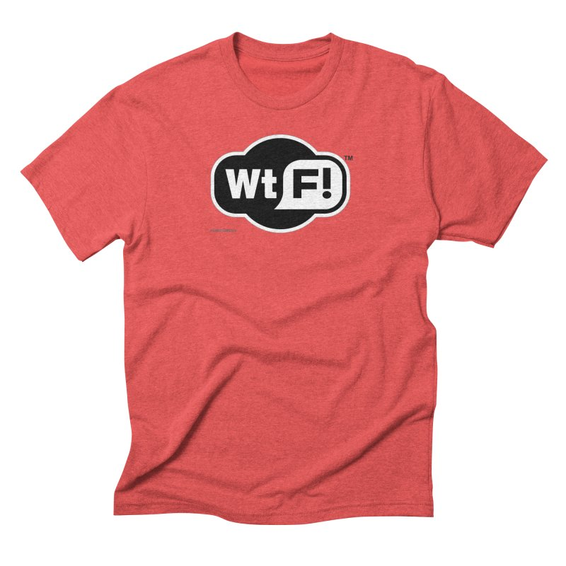 WTF! Men's Triblend T-Shirt by Zachary Knight | Artist Shop