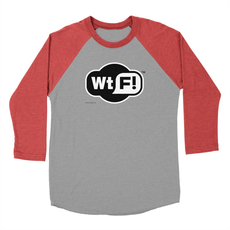 WTF! Women's Baseball Triblend T-Shirt by Zachary Knight | Artist Shop