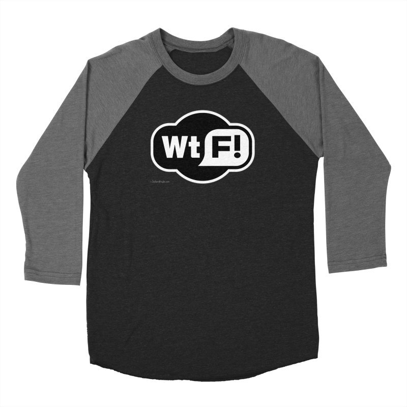WTF! Women's Baseball Triblend T-Shirt by Zachary Knight | Artist Shop