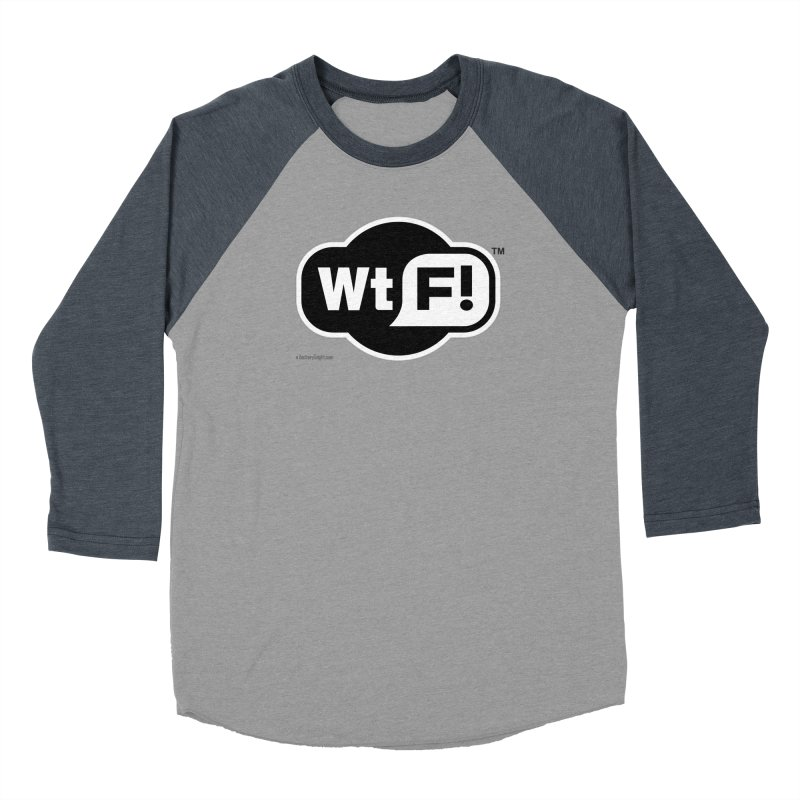 WTF! Women's Baseball Triblend Longsleeve T-Shirt by Zachary Knight | Artist Shop