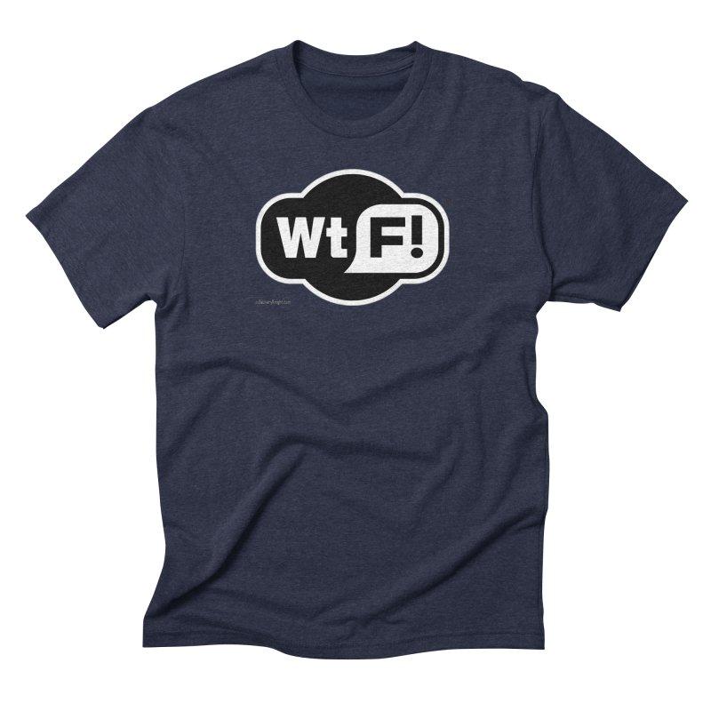 WTF! Men's Triblend T-shirt by Zachary Knight | Artist Shop