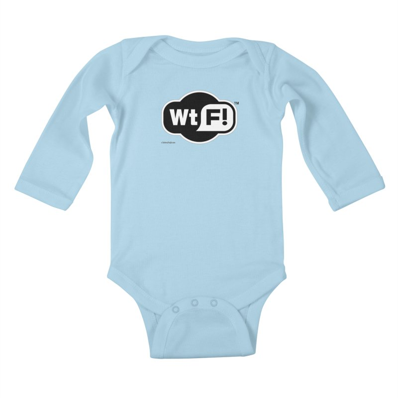 WTF! Kids Baby Longsleeve Bodysuit by Zachary Knight | Artist Shop