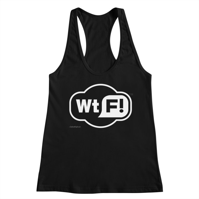 WTF! Women's Tank by Zachary Knight | Artist Shop