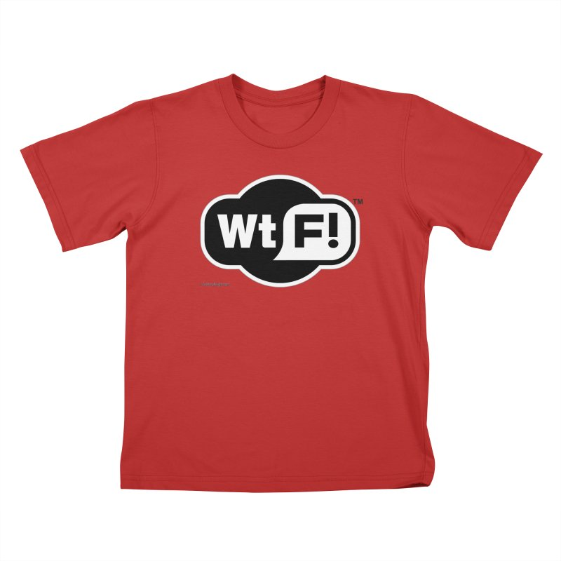 WTF! Kids T-Shirt by Zachary Knight | Artist Shop