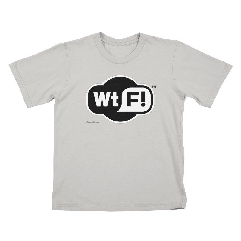 WTF! Kids T-Shirt by Zachary Knight   Artist Shop