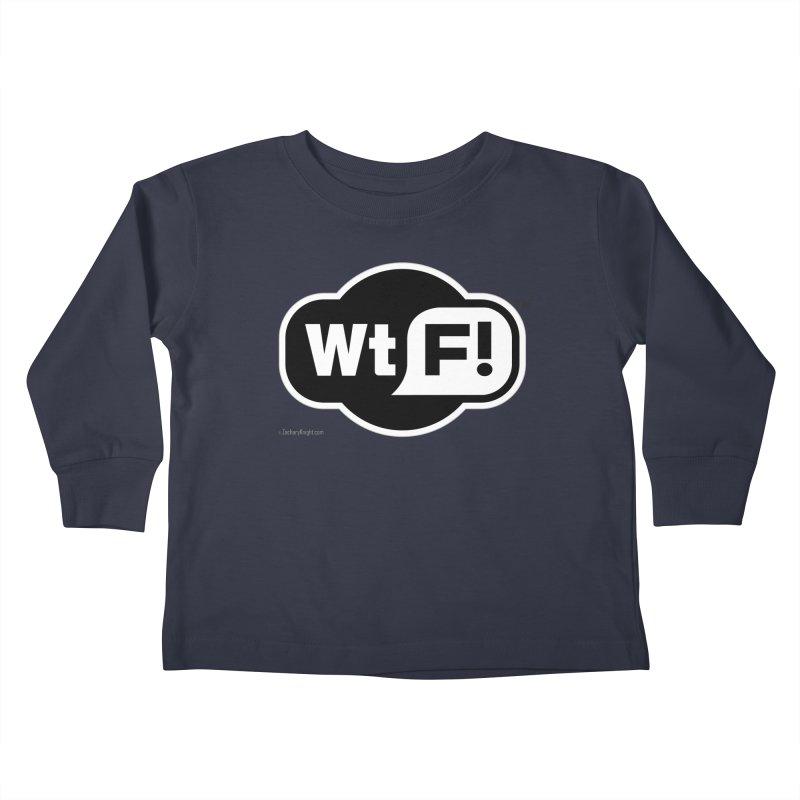 WTF! Kids Toddler Longsleeve T-Shirt by Zachary Knight | Artist Shop