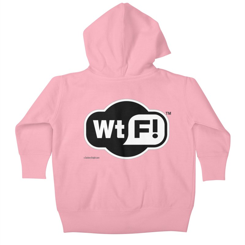 WTF! Kids Baby Zip-Up Hoody by Zachary Knight | Artist Shop