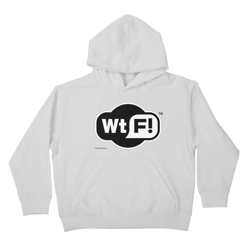 WTF! Kids Pullover Hoody by Zachary Knight | Artist Shop