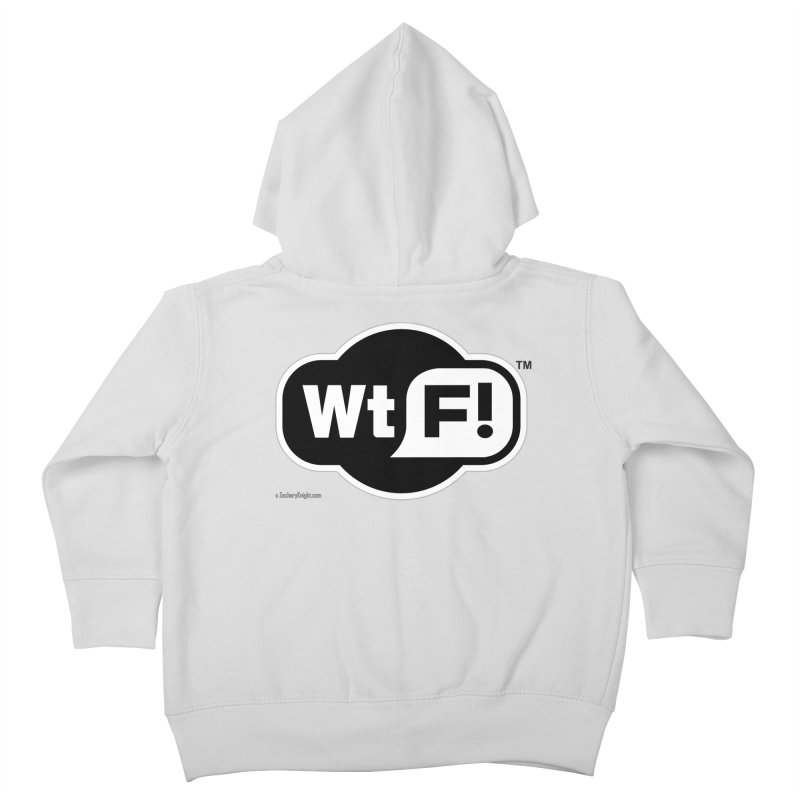 WTF! Kids Toddler Zip-Up Hoody by Zachary Knight | Artist Shop