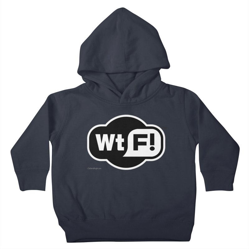 WTF! Kids Toddler Pullover Hoody by Zachary Knight | Artist Shop