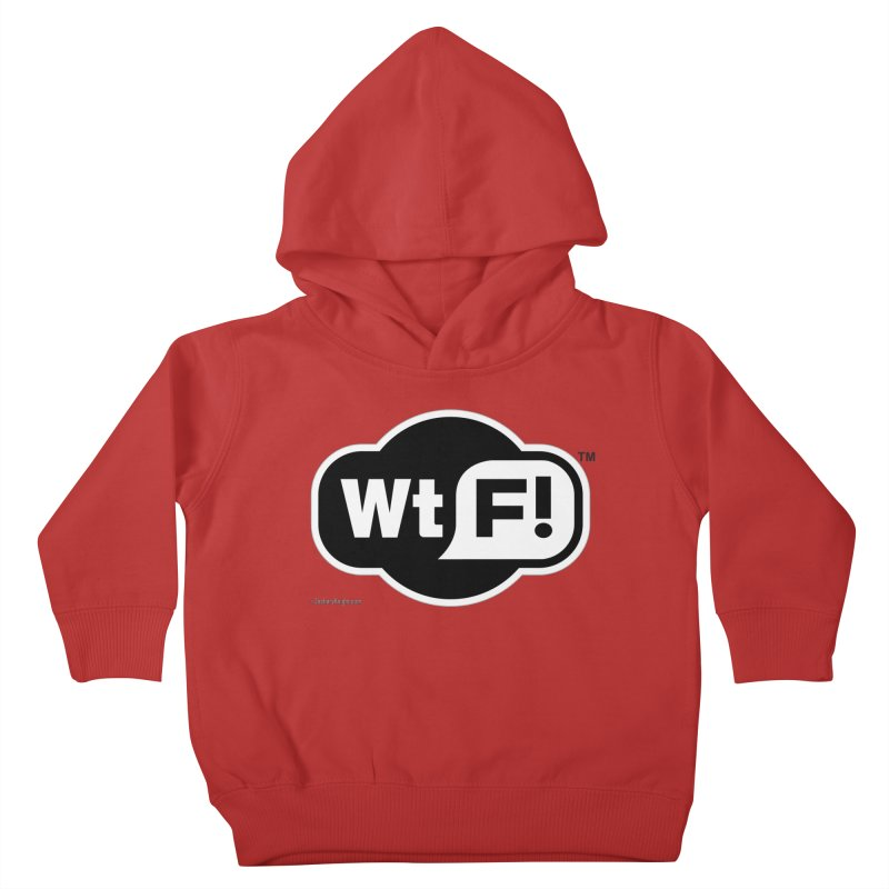 WTF! Kids Toddler Pullover Hoody by Zachary Knight   Artist Shop