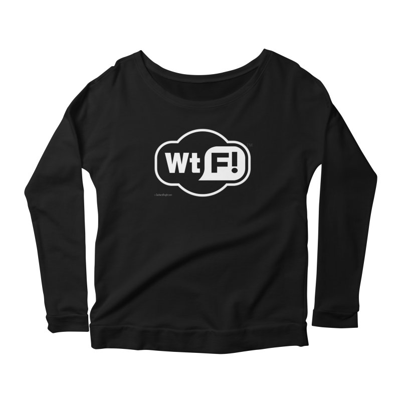 WTF! Women's Scoop Neck Longsleeve T-Shirt by Zachary Knight | Artist Shop