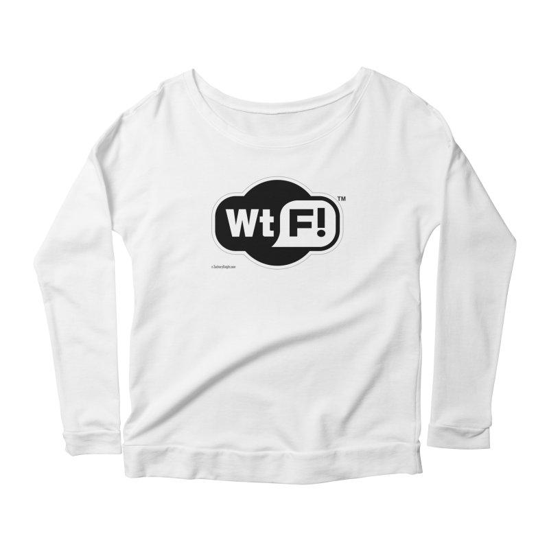 WTF! Women's Scoop Neck Longsleeve T-Shirt by Zachary Knight | Artist Shop