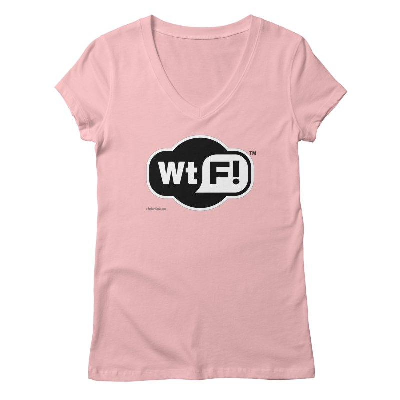 WTF! Women's V-Neck by Zachary Knight | Artist Shop