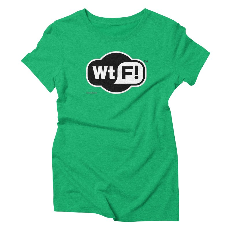 WTF! Women's Triblend T-Shirt by Zachary Knight | Artist Shop