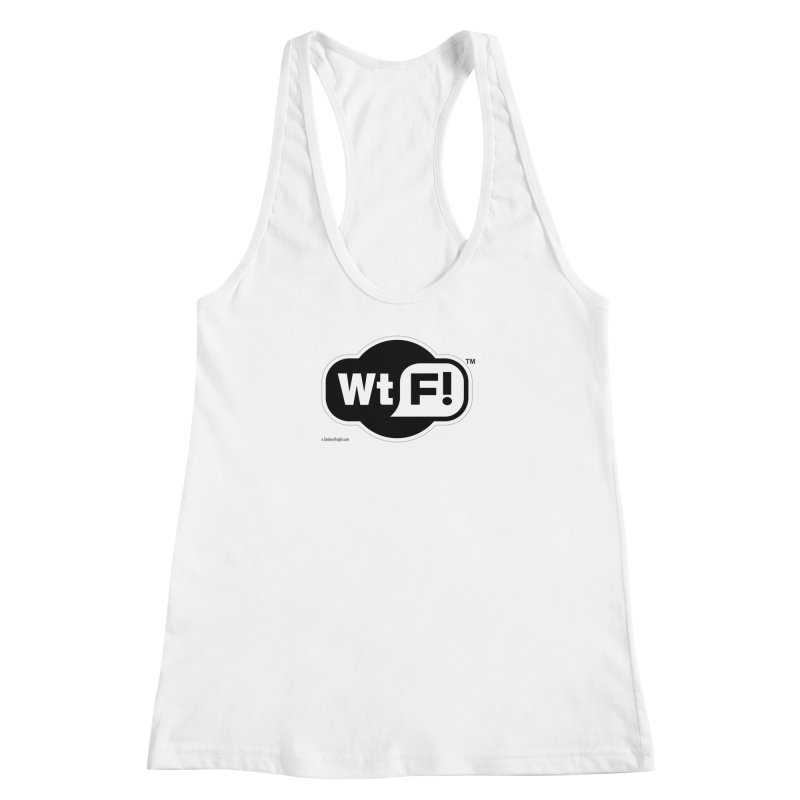 WTF! Women's Racerback Tank by Zachary Knight | Artist Shop
