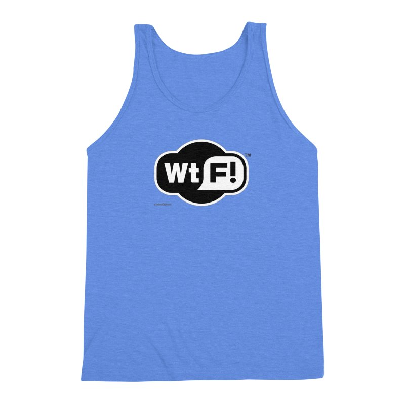 WTF! Men's Triblend Tank by Zachary Knight | Artist Shop