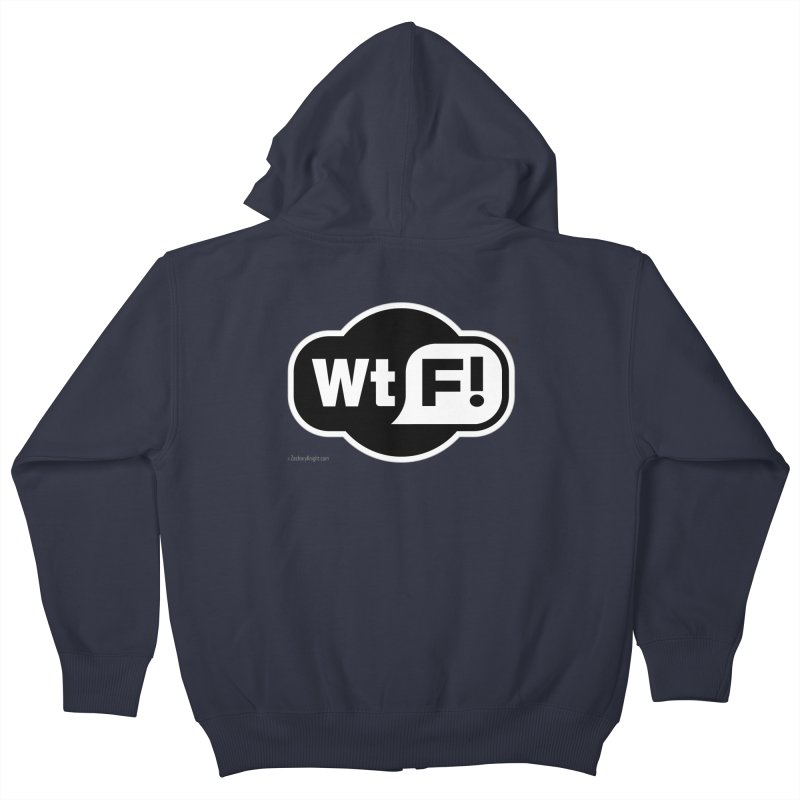 WTF! Kids Zip-Up Hoody by Zachary Knight | Artist Shop