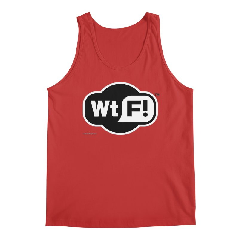WTF! Men's Regular Tank by Zachary Knight | Artist Shop