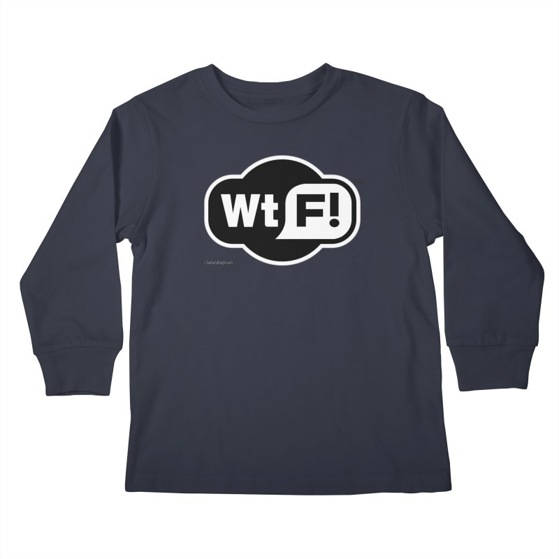 WTF! Kids Longsleeve T-Shirt by Zachary Knight | Artist Shop